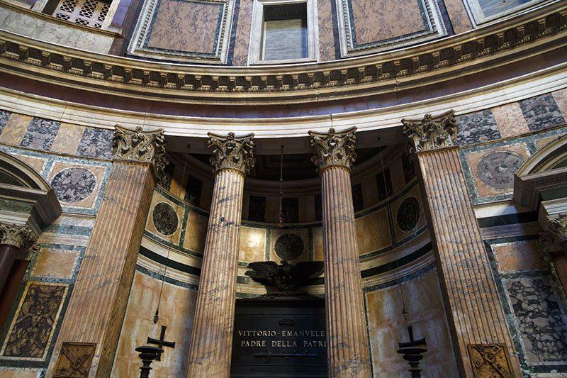 roma panteon emanuele mezari