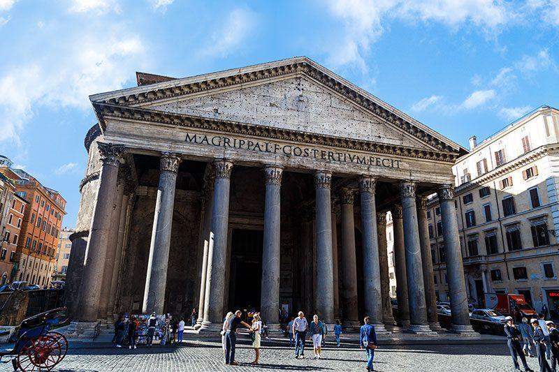 roma panteon gezilecek yerler