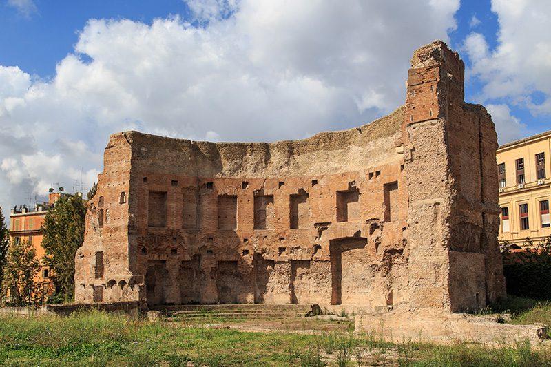 roma trajan hamamlari