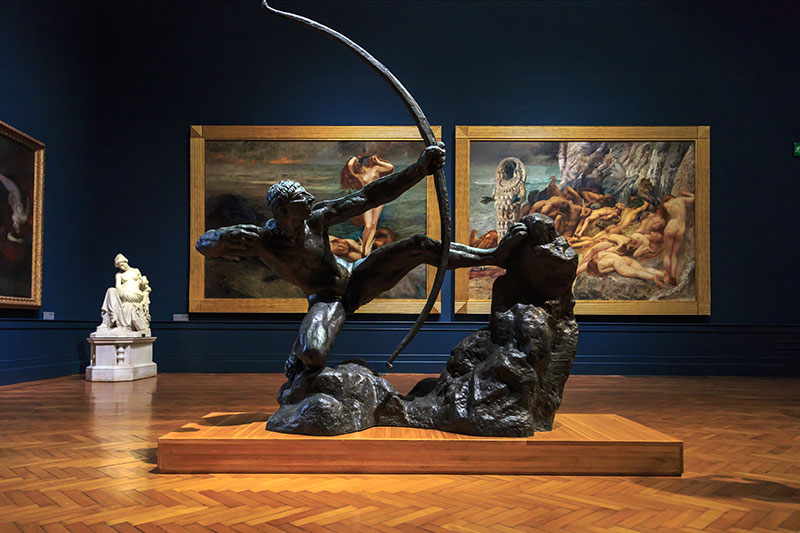 roma ulusal modern sanat galerisi muzesi heykelleri