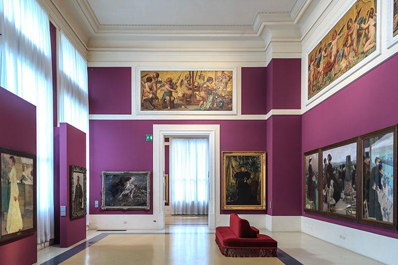 roma ulusal modern sanat galerisi muzesi resimleri