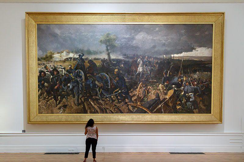 roma ulusal modern sanat galerisi muzesi tablo