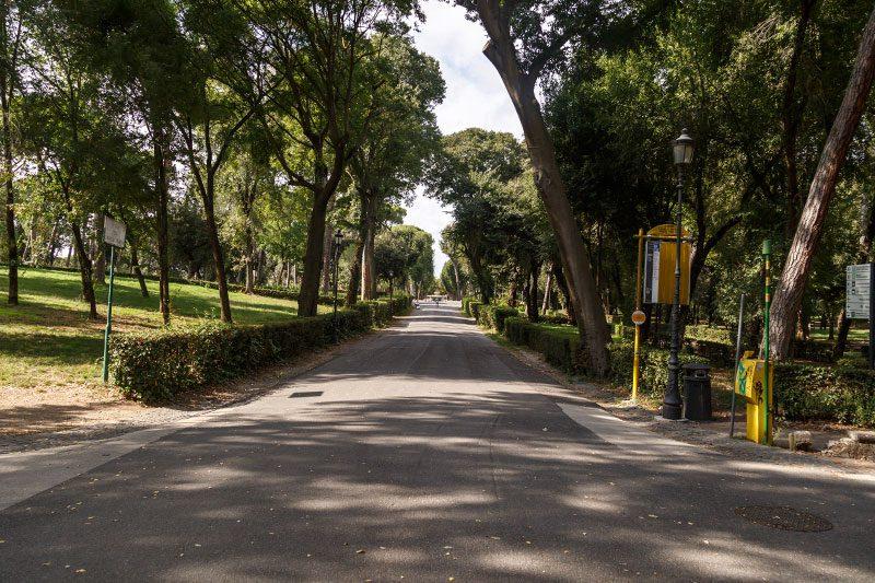roma villa borghese bahcesi