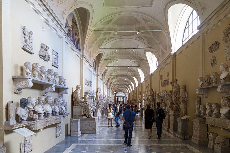 vatikan muzeleri heykel gezisi
