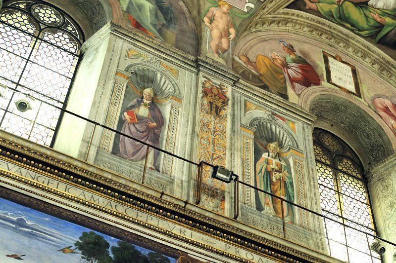 vatikan sistina sapeli papa resimleri