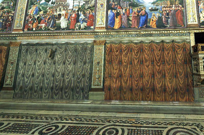 vatikan sistina sapeli perdeleri