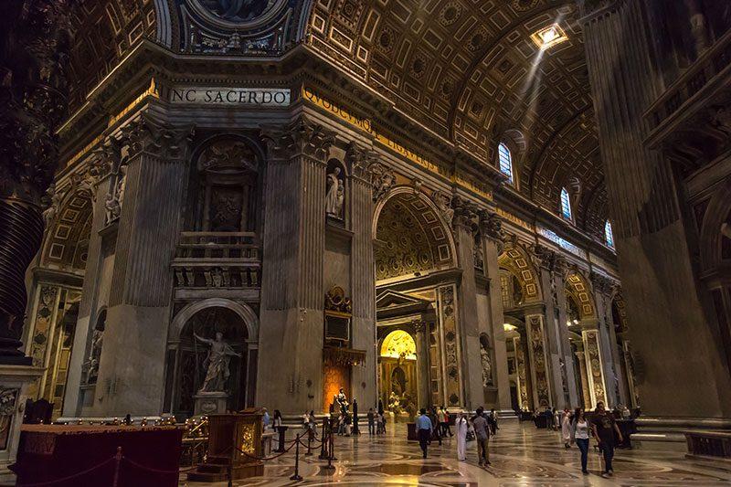 vatikan st peter bazilika gezi
