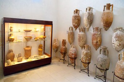 gozo arkeoloji muzesi amforalar 400x266