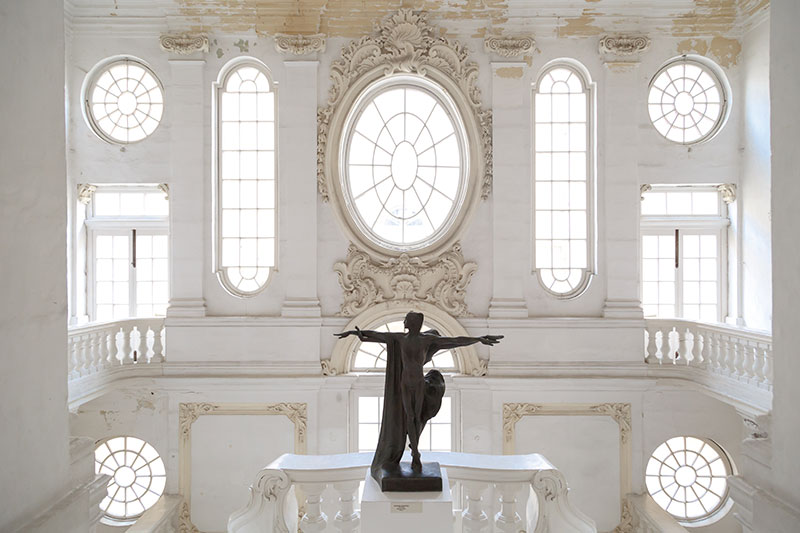 guzel sanatlar ulusal muzesi italya stili