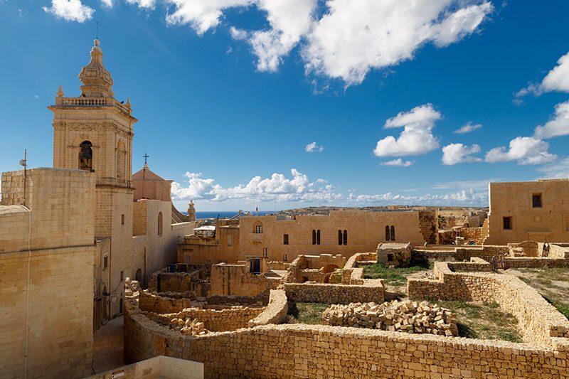 malta gozo citadel gezisi