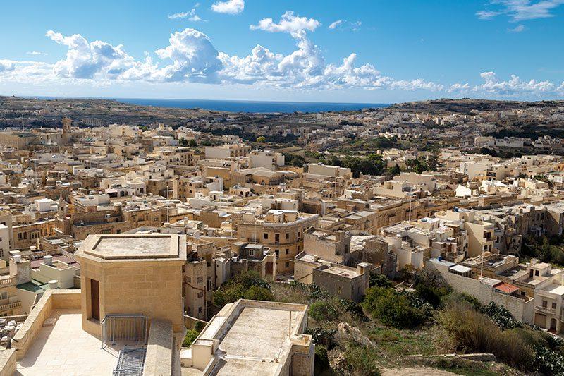 malta gozo old prison manzarasi