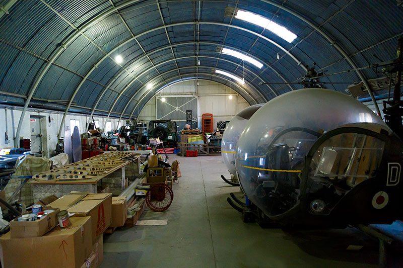 malta havacilik muzesi ucak tamiri
