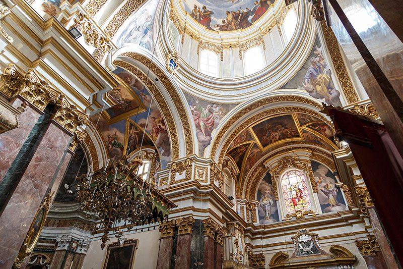malta mdina katedrali suslemeleri