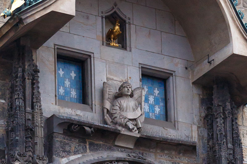 prag astronomik saat havariler heykel horoz