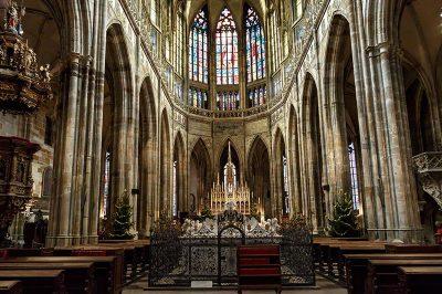 prag kalesi st vitus katedrali ic mimarisi 400x266