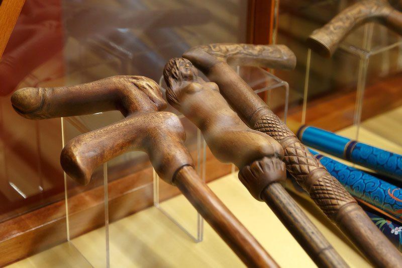 prag seks makineleri muzesi baston