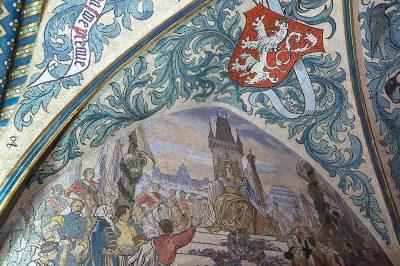prag tarihi salonlar mozaik seslemeler 400x266