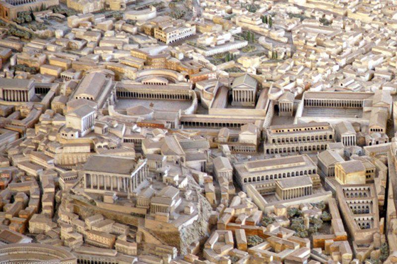 roma forumlari antik cag