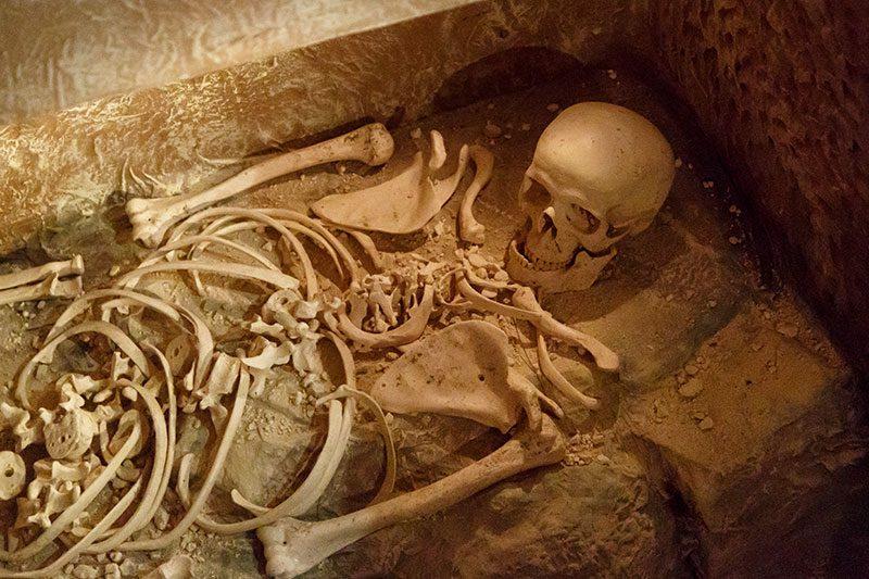 valletta arkeoloji muzesi gomu iskeleti