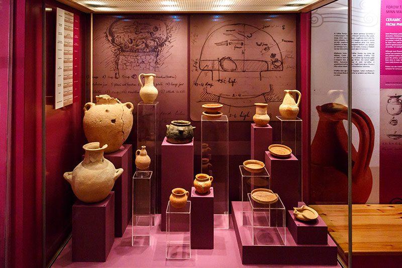 valletta arkeoloji muzesi kaplar