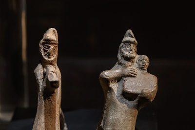 ankara erimtan arkeoloji muzesi heykeller 400x266
