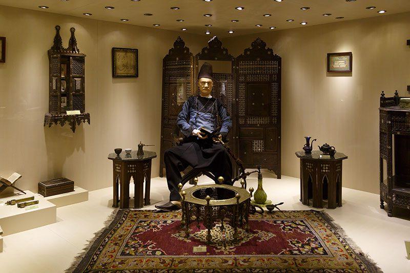 ankara etnografya muzesi hattat sanati