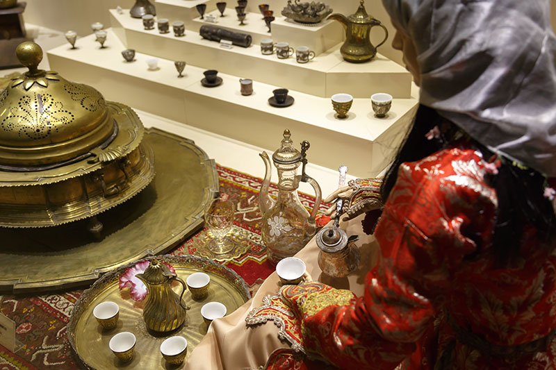 ankara etnografya muzesi kahve