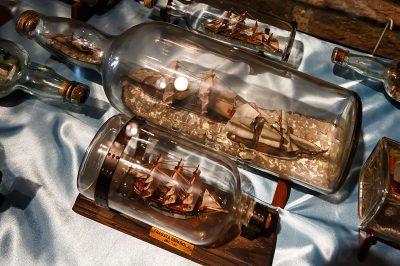 ankara rahmi koc muzesi sise gemiler 400x266