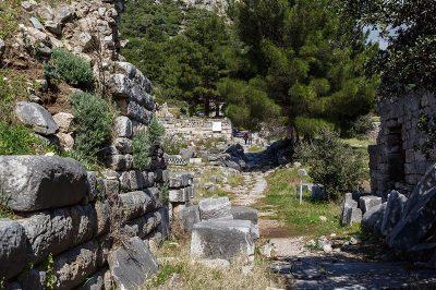 priene antik kenti evleri 400x266