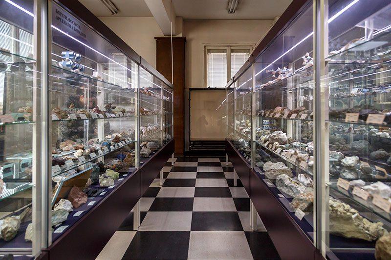 sofya dogal tarih muzesi mineraller salonu