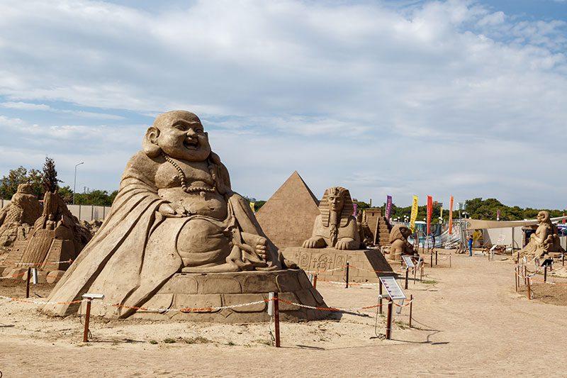 antalya lara plaji kum heykel festivali gezilecek yerler