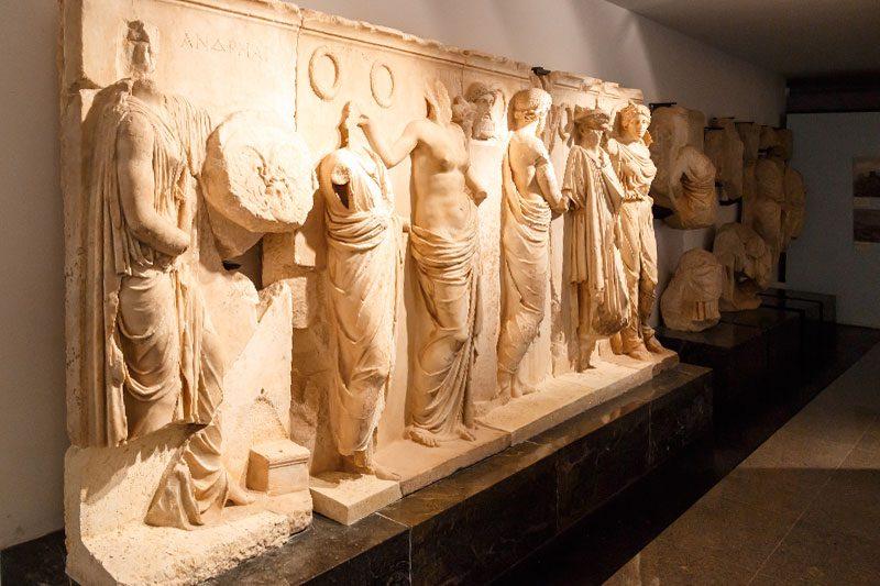 aydin afrodisias antik kenti muzesi zolios aniti