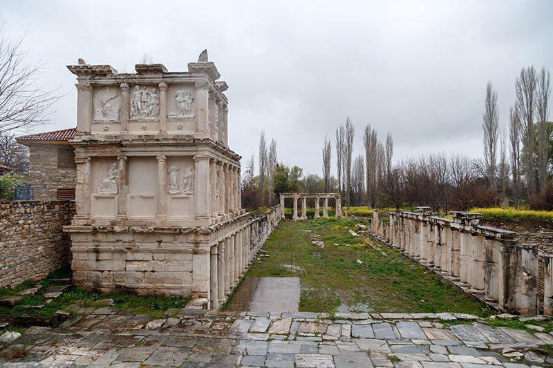 aydin afrodisias antik kenti sebasteion