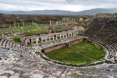aydin afrodisias antik kenti tiyatrosu 400x266