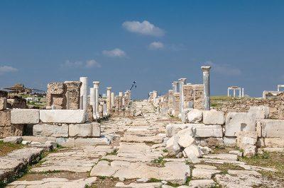 denizli laodikeia antik kenti sutunlu cadde yazisi 400x266