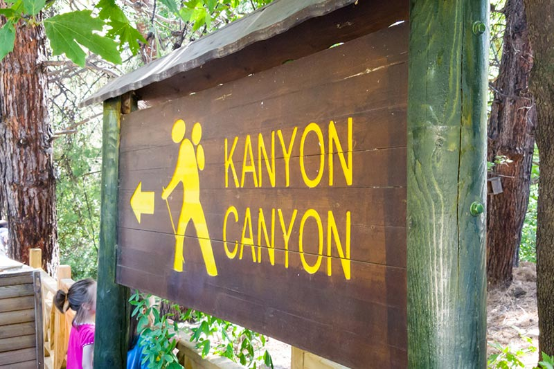 dilek yarimadasi milli parki kanyon girisi
