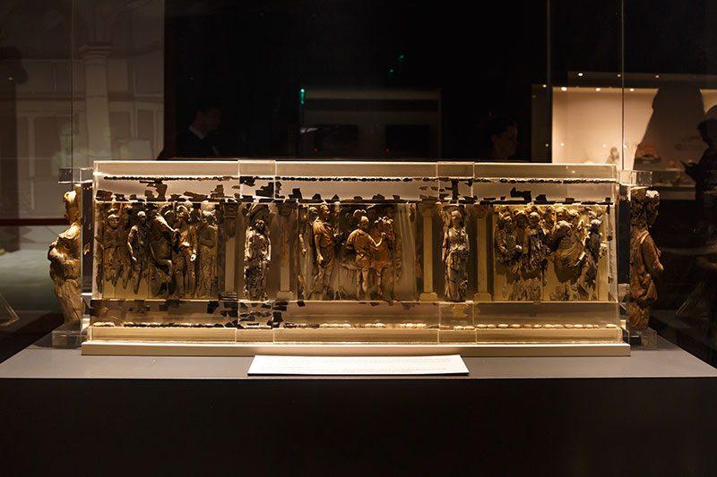 izmir efes muzesi sunak kabartmalari