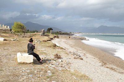 mersin anamur anamurium antik kenti deniz 400x266