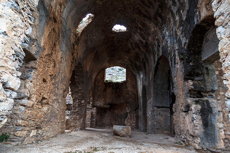 mersin anamur anemurium antik kenti kilise gezisi