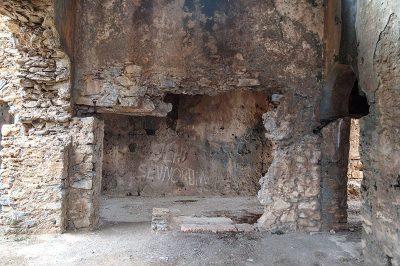 mersin anamur anemurium antik kenti kilise vandallar 400x266