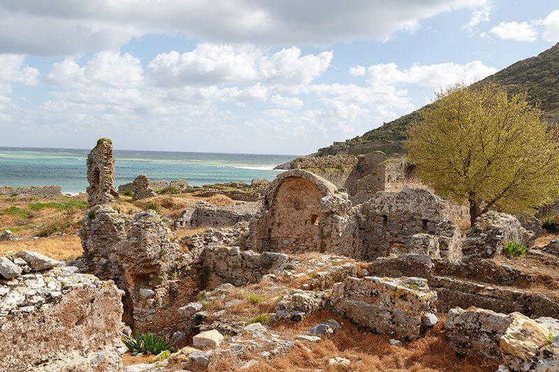 mersin anamur anemurium antik kenti tarihi kalintilar