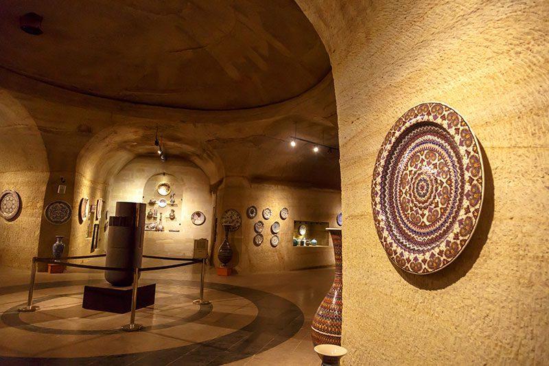 avanos guray muze modern eserler salonu gezisi