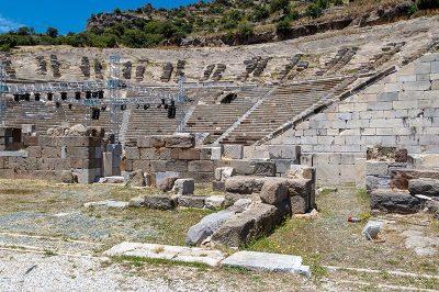 bodrum antik tiyatrosu gezilecek yerler 400x266