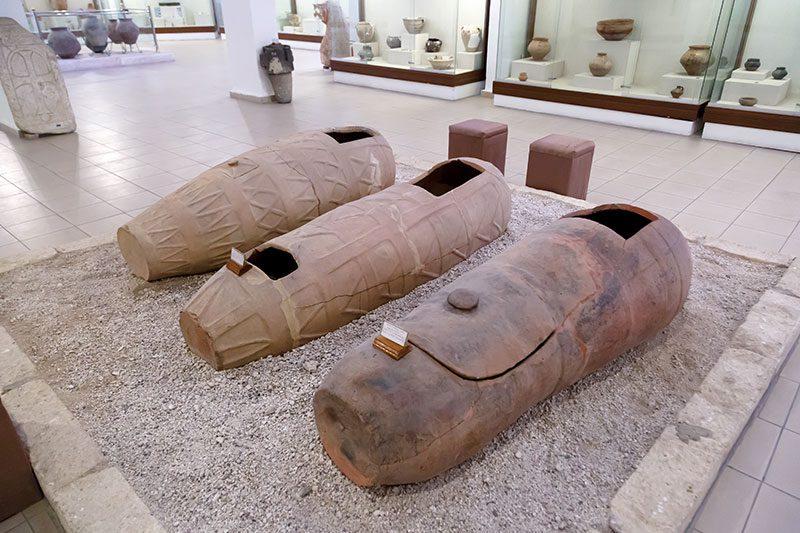 nevsehir muzesi mezar buluntulari
