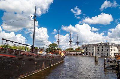 amsterdam ulusal denizcilik muzesi manzarasi 400x266