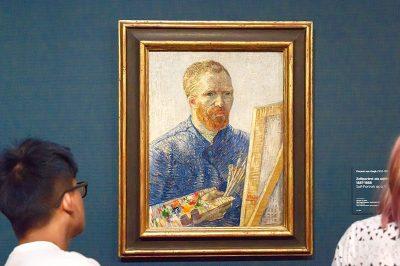 amsterdam van gogh muzesi self portrait gezilecek yerler 400x266