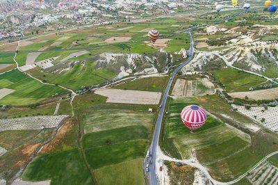 kapadokya balon gezisi manzarasi 400x266