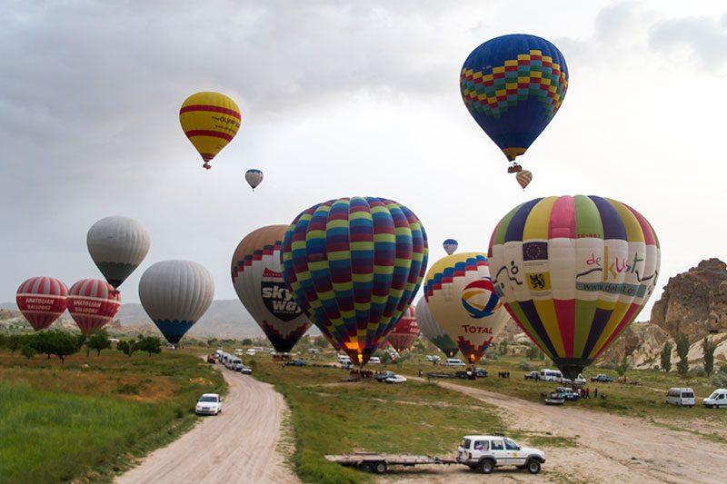 kapadokya balon turu gezi notlari