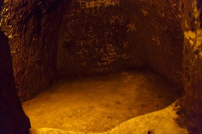 kapadokya derinkuyu yeralti sehri odalari 400x266