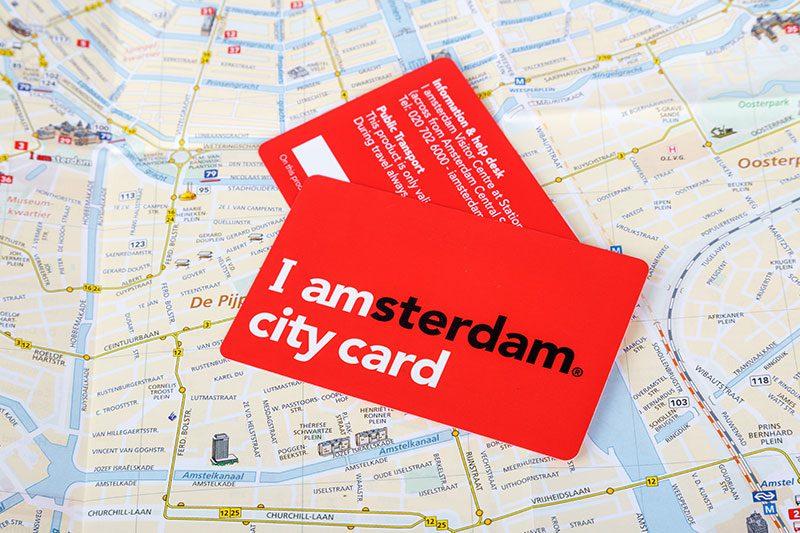 amsterdam city card sehir karti